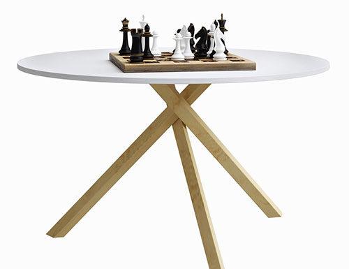 Małe stoły do kuchni w bloku